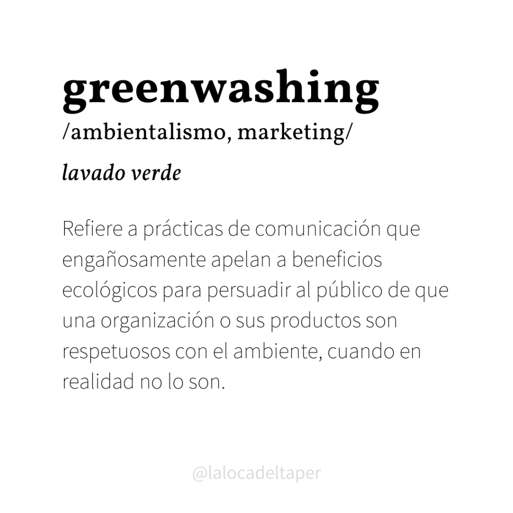 definición de greenwashing