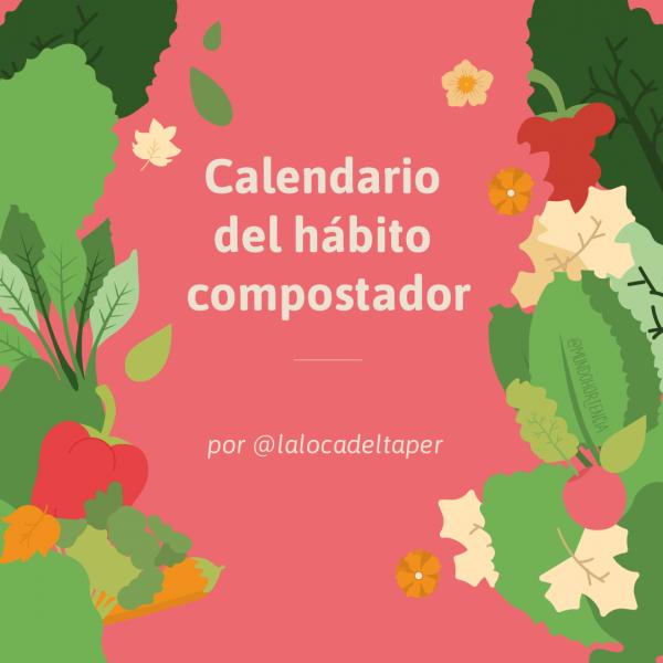 Calendario del hábito compostador